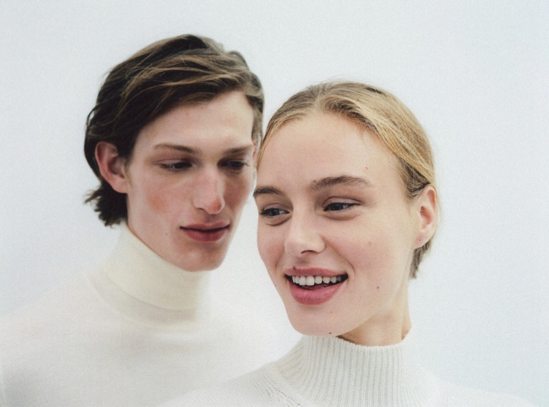 Sliding Seasons: Laurin David Models Fashions for Luisaviaroma