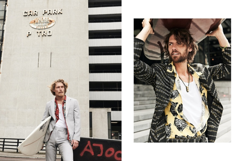 Harry & James Put the Surfer in Sartorial for Luxury London