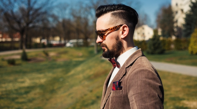 Man Side Profile Picture Nature Sunglasses Stylish