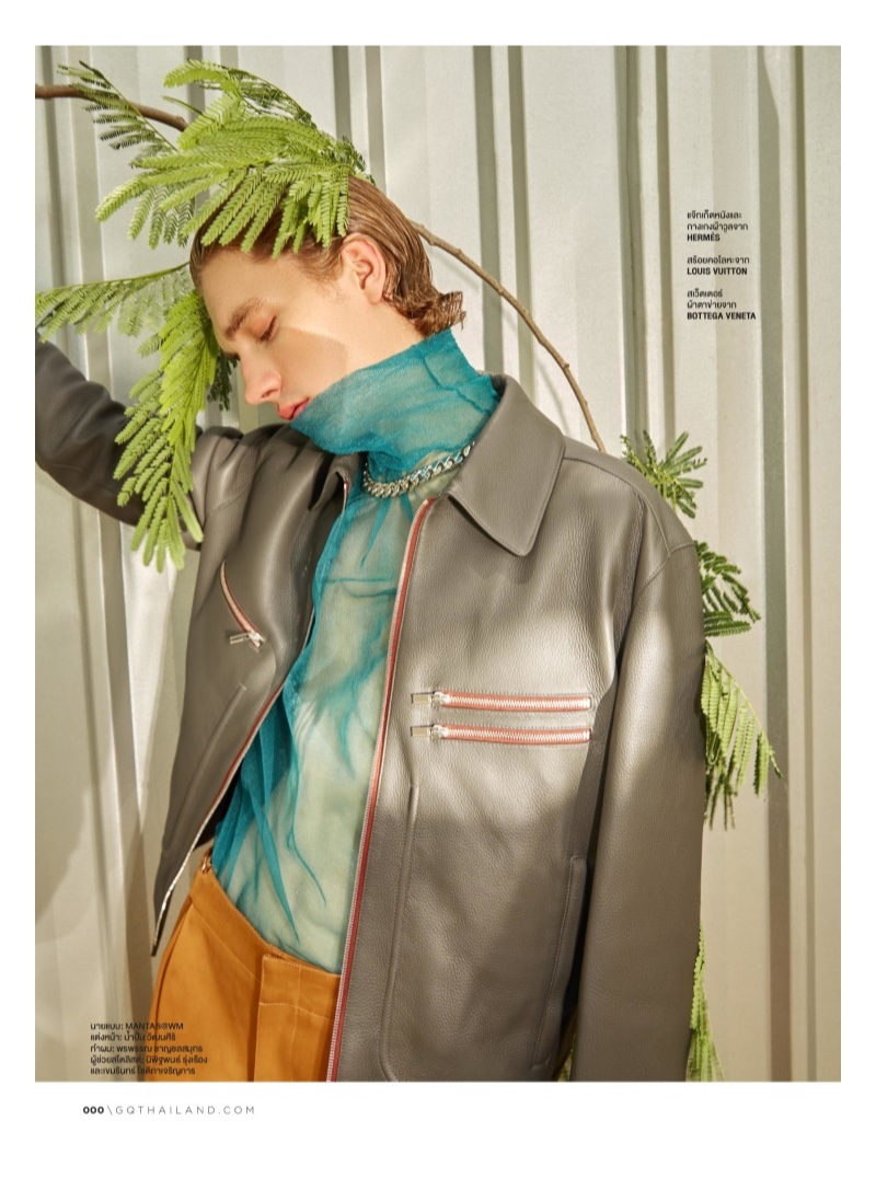 Breaking the Code: Mantas Daugvardas Goes Quirky for GQ Thailand