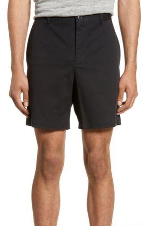 Men's Club Monaco Baxter Shorts, Size 32 - Black