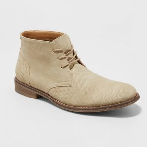 Men's Kordell Chukka Boots - Goodfellow & Co Tan 11, Beige