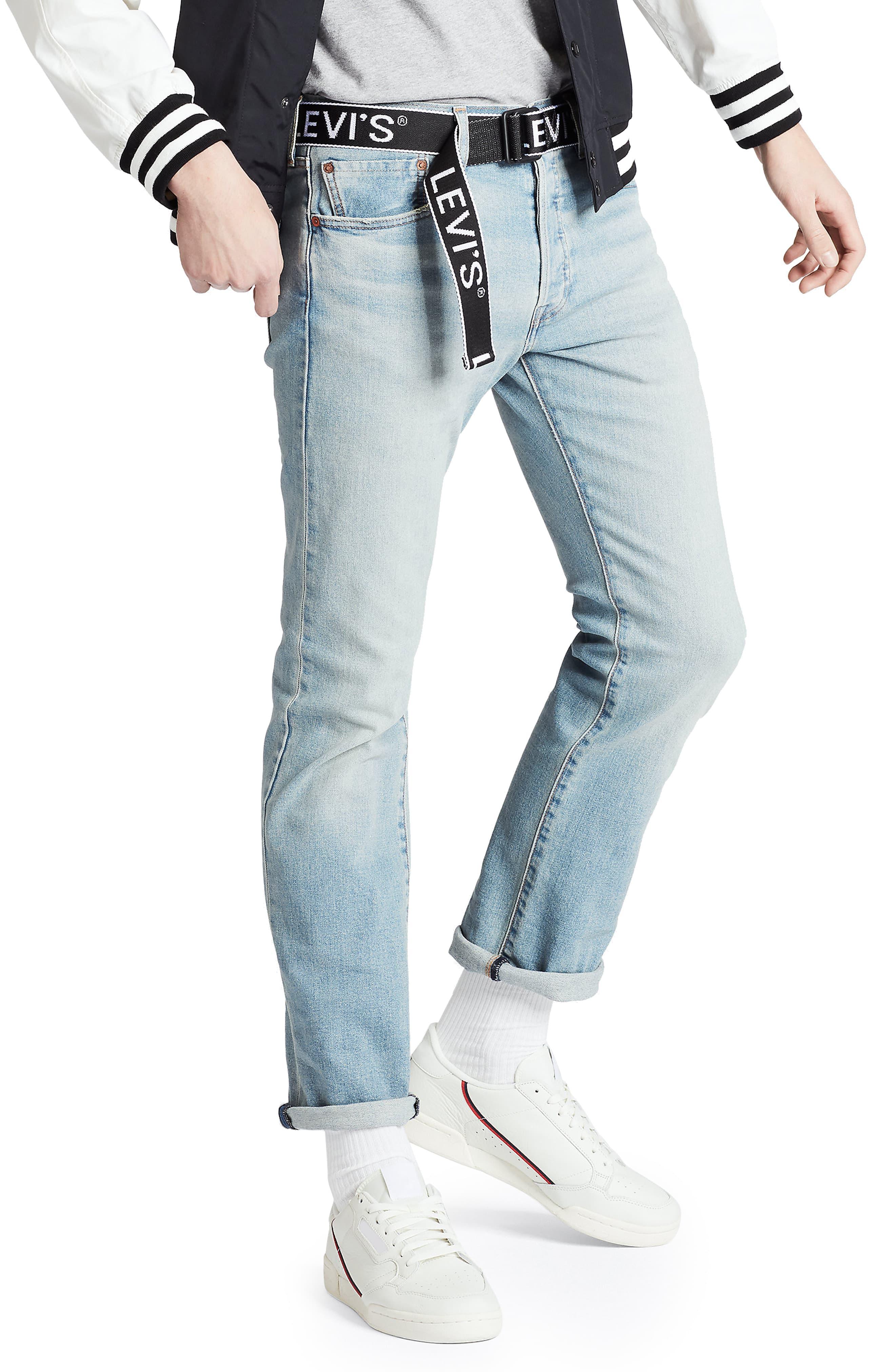 Men's Levi's 501 Original Straight Leg Jeans, Size 32 x 32 ...