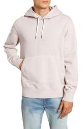 Men's Madewell Hooded Sweatshirt, Size X-Large - Pink