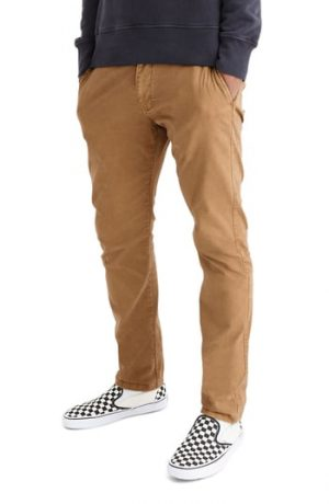 Men's Madewell Penn Slim Fit Chino Pants, Size 32 x 32 - Brown