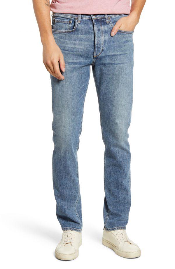 Men's Rag & Bone Fit 2 Slim Fit Jeans, Size 38 - Blue