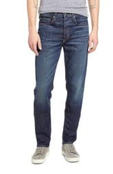 Men's Rag & Bone Fit 3 Slim Straight Leg Jeans, Size 38 - Blue