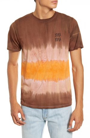 Men's Saturdays Nyc Tower Exclusive T-Shirt, Size Small - Brown