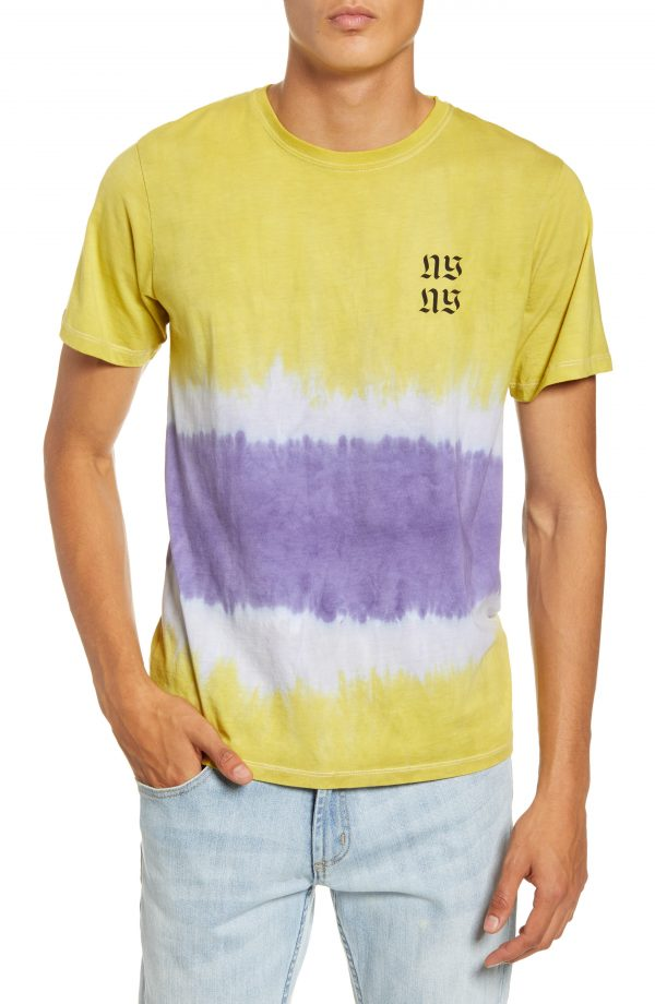 Men's Saturdays Nyc Tower Exclusive T-Shirt, Size Small - Yellow