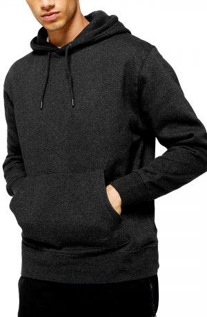 Men's Topman Hoodie, Size Large - Grey