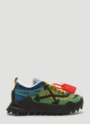 Off-White Odsy-1000 Sneakers in Green size EU - 44