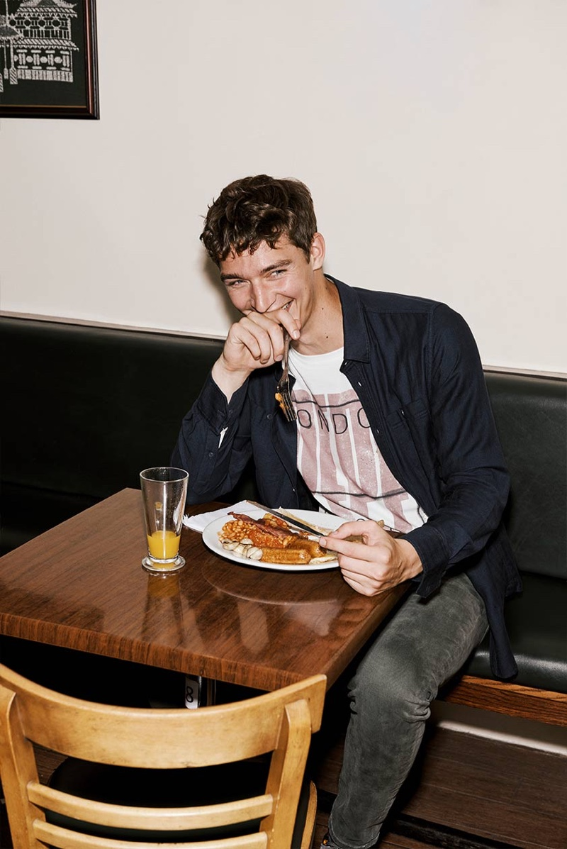 It's in the Streets: Otto Lotz & Wellington Grant for Pepe Jeans