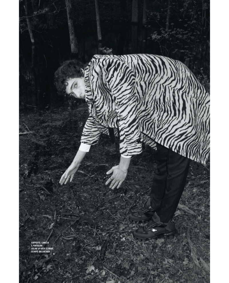The River Man: Piero Méndez for Icon Italia