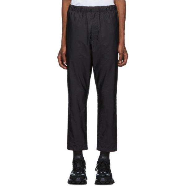 Prada Black Nylon Trousers