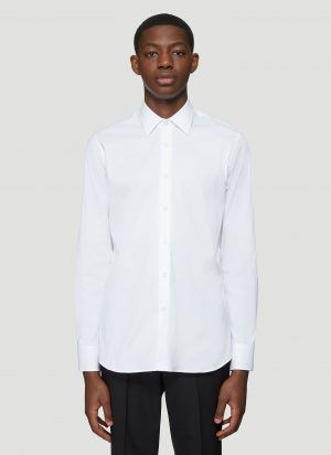 Prada Classic Shirt in White size EU - 41