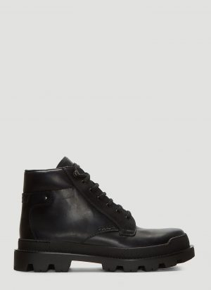 Prada Military Boots in Black size UK - 11