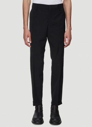 Prada Technical Chino Pants in Black size IT - 48