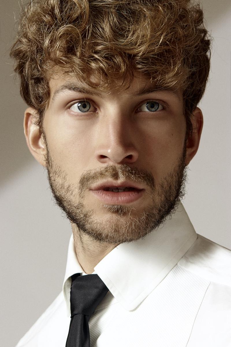 Rasmus wears shirt Tom Ford and tie Prada.