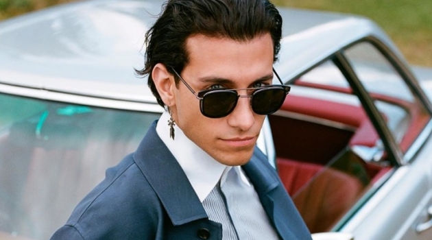 Rob Raco stars in Fendi's fall-winter 2019 eyewear campaign.
