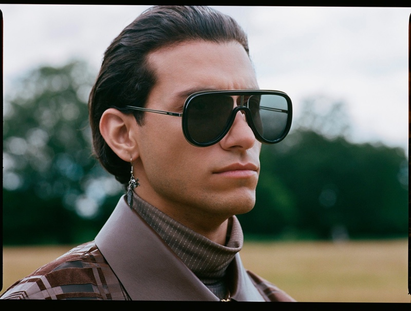 Actor Rob Raco connects with Fendi for the brand's fall-winter 2019 eyewear campaign.