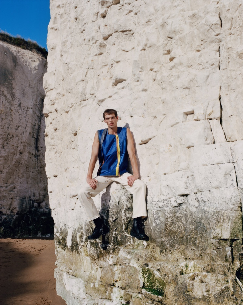 Rocky Harwood Dons Conscious-Friendly Brands for Browns Fashion