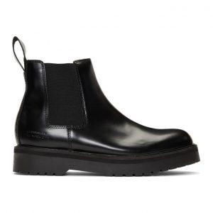 Saturdays NYC Black Rick Chelsea Boots