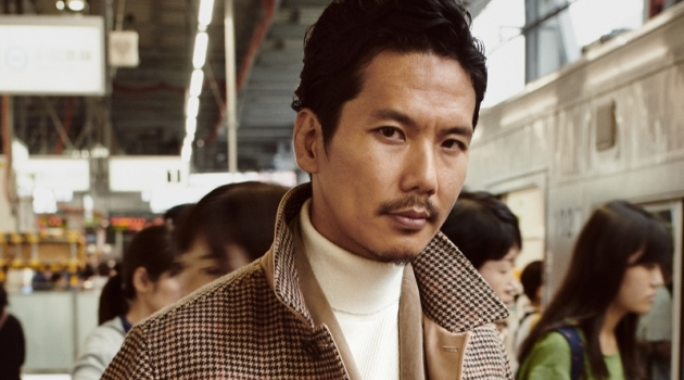 Fashion director Shuhei Nishiguchi is a chic vision for Mango's fall 2019 #BEanICON campaign.