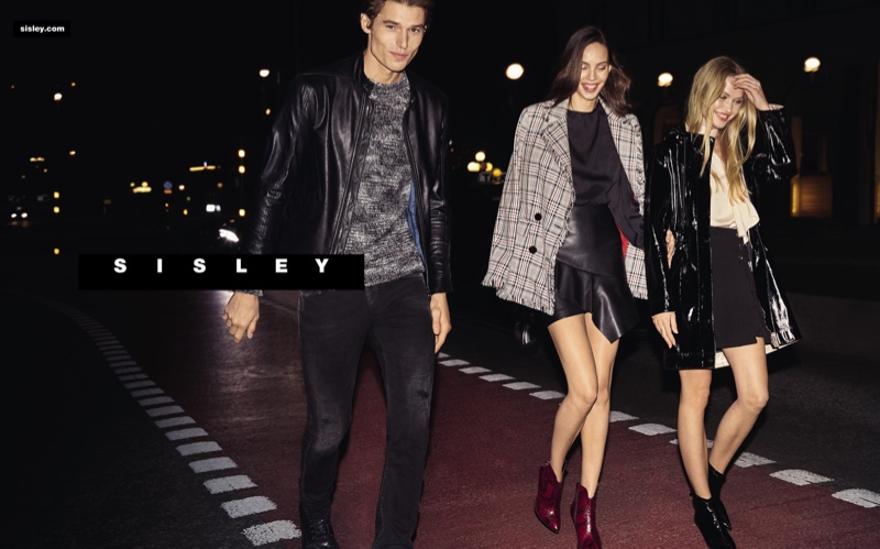 Sisley enlists models Jonas, Halvorsen, Lisa Louis Fratani, and Camilla Christensen as the stars of its fall-winter 2019 campaign.