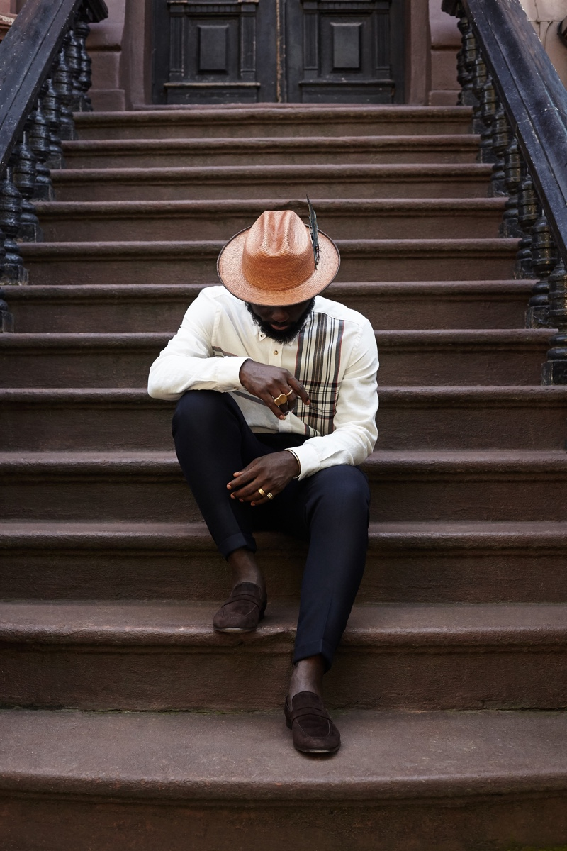 """Ben Sherman enlists Steven Onoja to star in its latest installment of """"The Series AW19."""""""