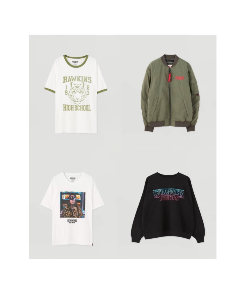 Pull & Bear x Stranger Things Collection