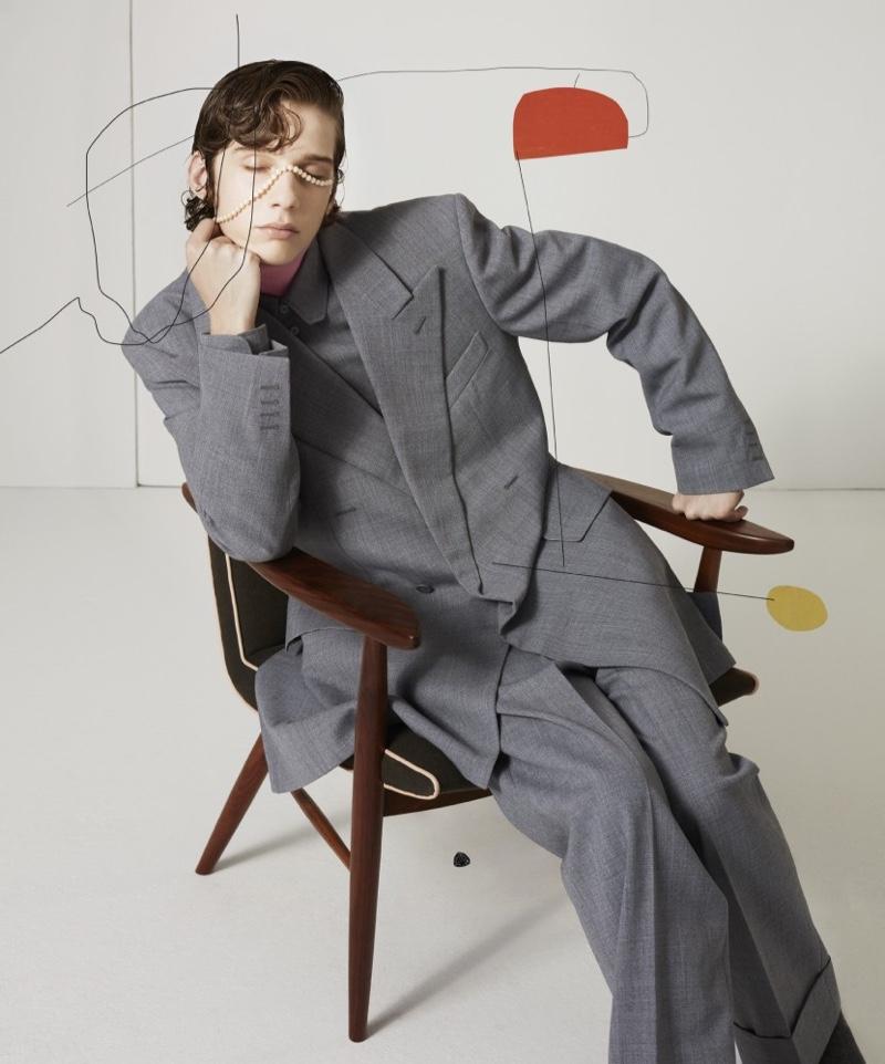 Robert & Palace Rock Oversized Fashions for T Magazine