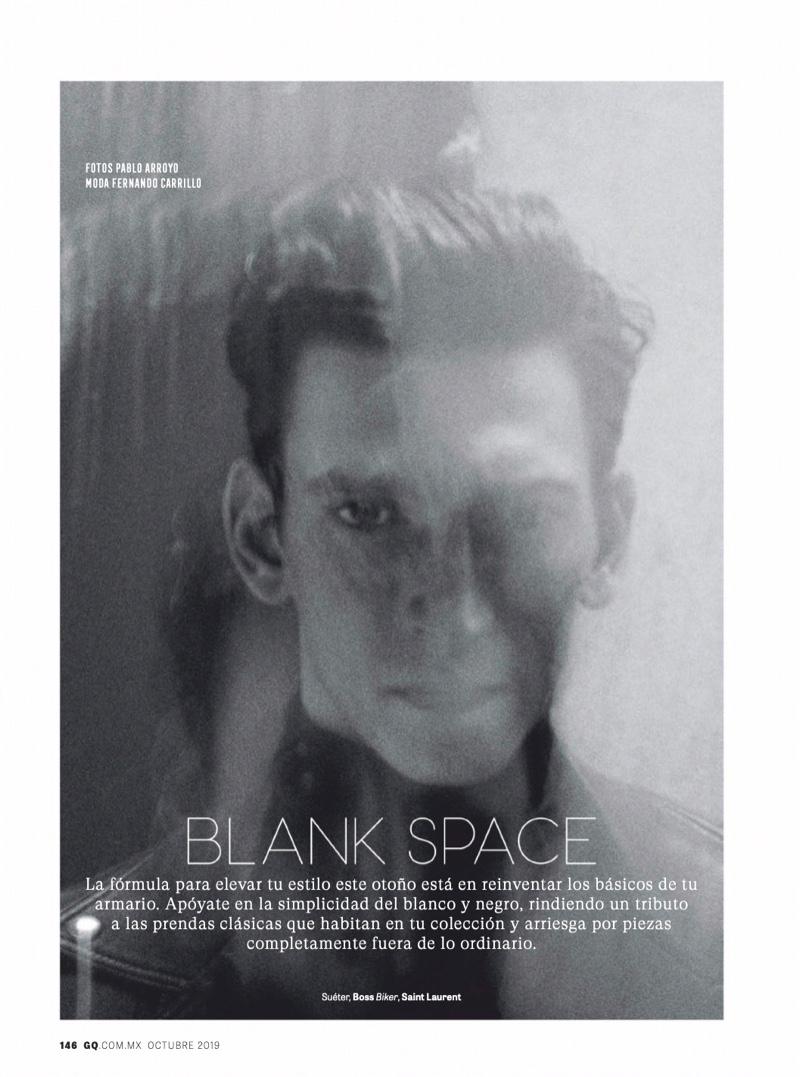 Blank Space: Thibaud Charon for GQ México