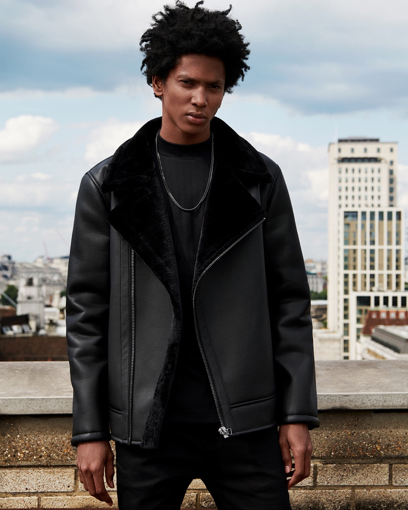 Rafael Mieses links up with Topman for the brand's fall 2019 campaign.