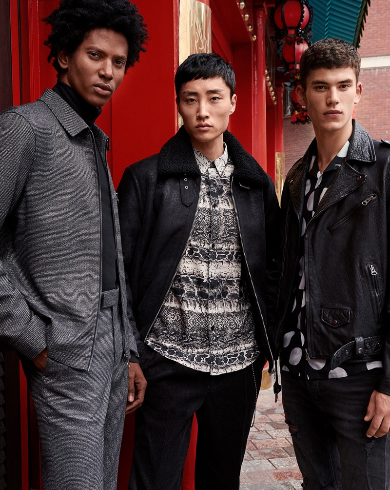 Rafael, Ryu & Finn Front Trendy Topman Fall '19 Campaign