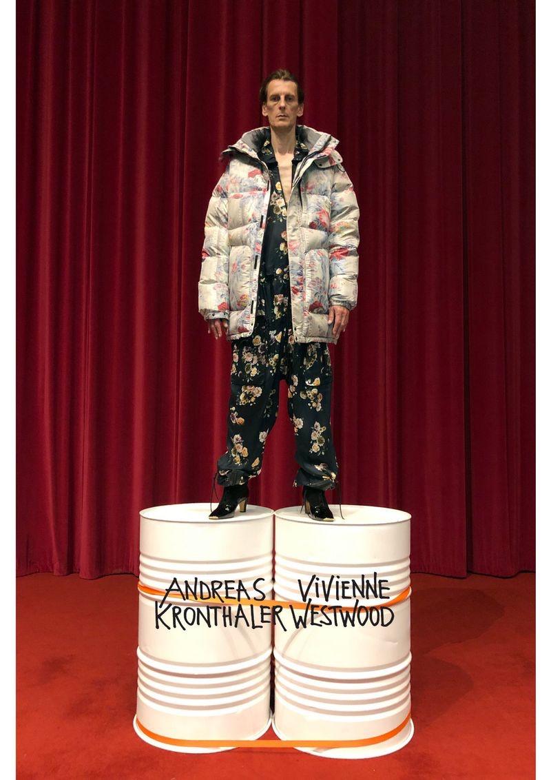 Juergen Teller photographs Nicolas Duée for Vivienne Westwood's fall-winter 2019 campaign.