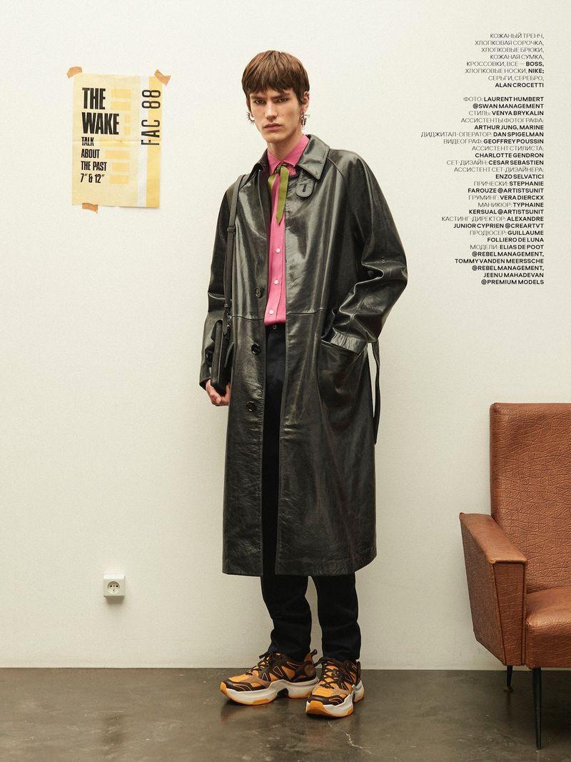 Back to Basics: Elias, Jeenu & Tommy for Vogue Ukraine Man