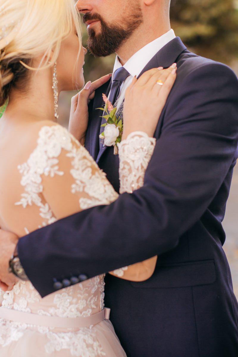Wedding Couple Groom Style