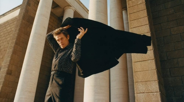 Willem Dafoe Connects with Mr Porter, Talks Working with Robert Pattinson