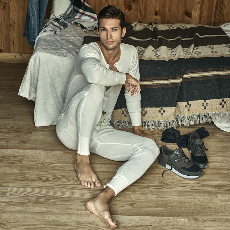 Ben Bowers stars in Xti's fall-winter 2019 campaign.