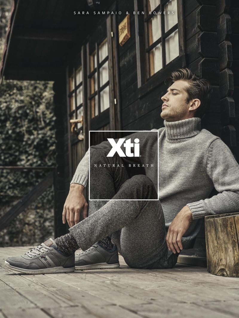 Once more, Xti enlists Ben Bowers as the face of its latest campaign.