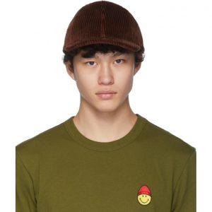 AMI Alexandre Mattiussi Brown Patch Cap