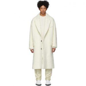 AMI Alexandre Mattiussi Off-White Oversized Coat