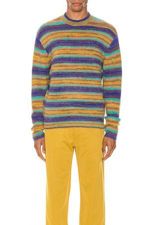 Acne Studios Nosti Seasonal Stripe Pullover in Multi