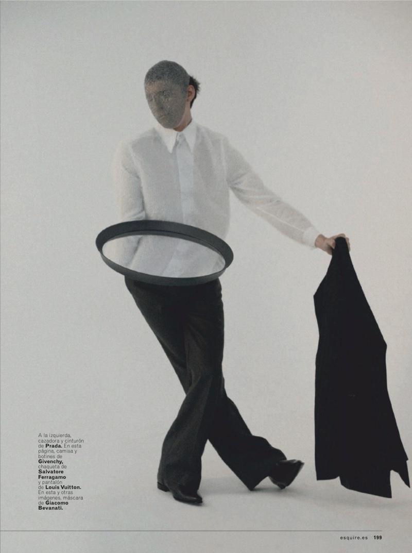 The Mirror Has Two Faces: Anders Hayward for Esquire España