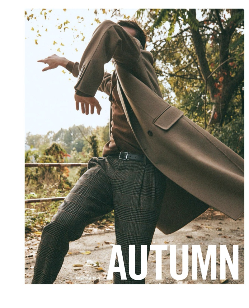 Autumn Dance: Anders Hayward for Icon Italia