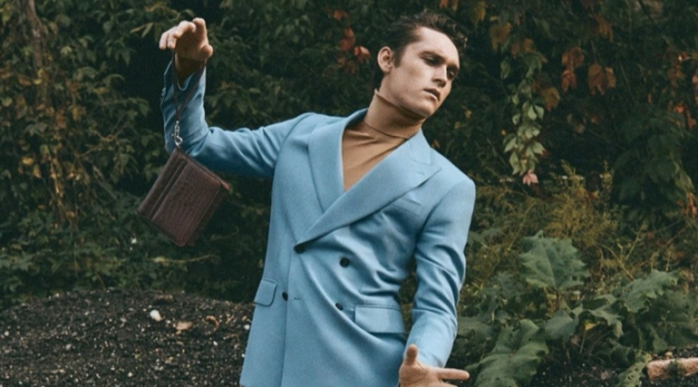 Autumn Dance: Anders Hayward for Icon Italia