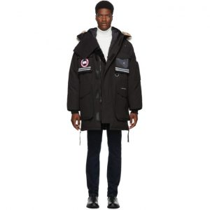 Canada Goose Black Down Snow Mantra Parka