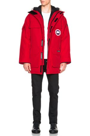 Canada Goose Expedition Parka in Red