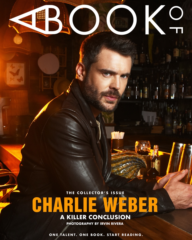 Charlie Weber covers the latest issue of A Book Of Magazine.