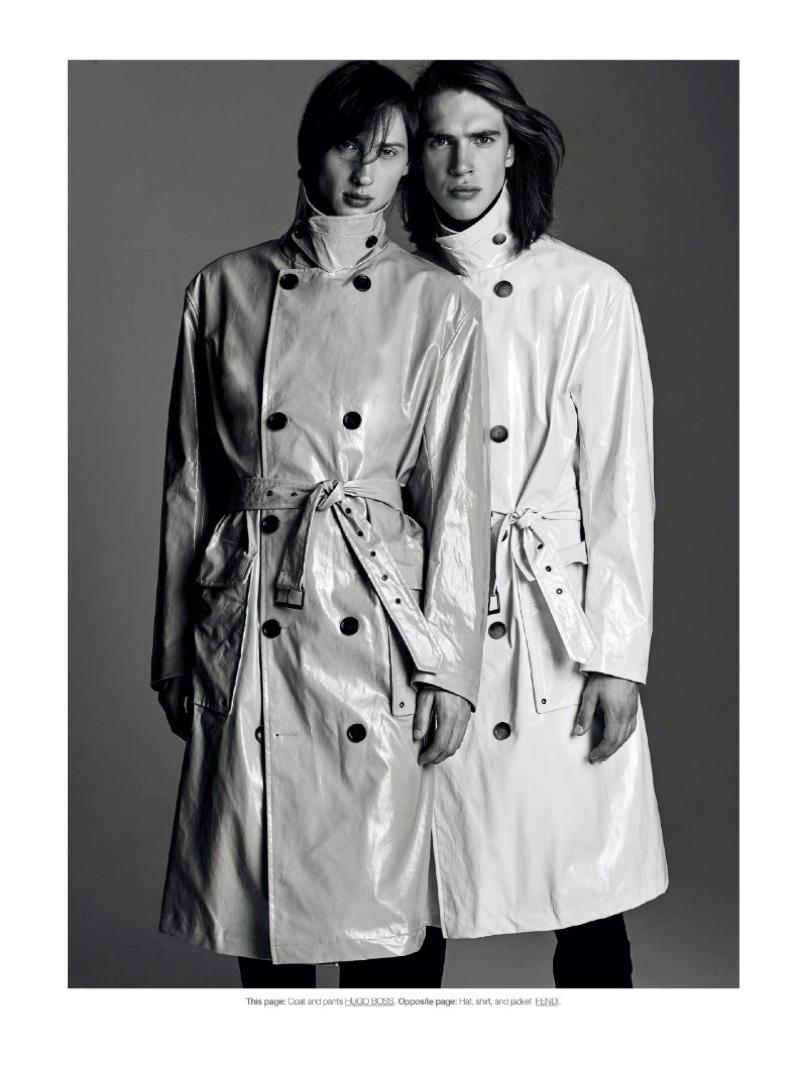 The New Gentlemen: Mackenzie & Thomas for DTK Men